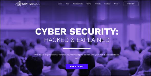 Cyber Security WordPress Theme