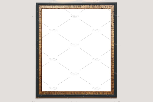 Decorative Antique Frame Template