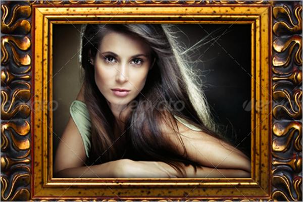 DecorativeAntique Picture Frame Design