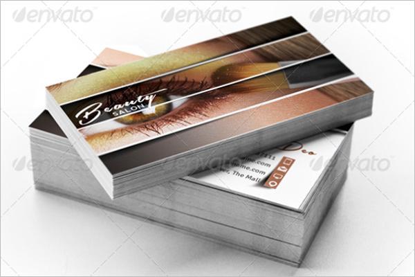 Decorative Salon Business Card Design