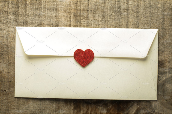Decorative Vintage Envelope Design