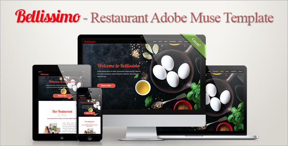 Delicious Restaurant Landing Page Theme