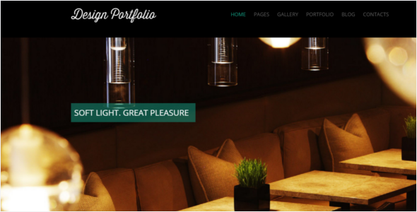Design Portfolio WordPress Theme