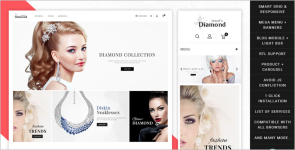 Diamond Collection Prestashop Theme