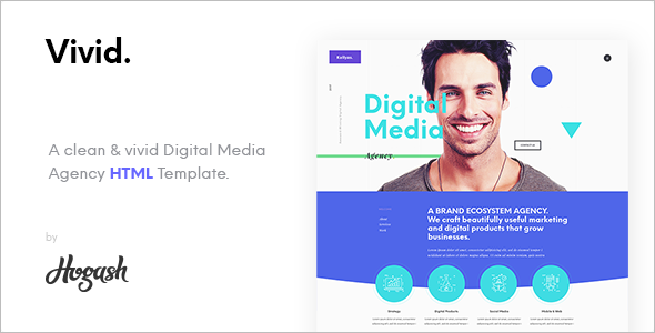 Digital Media WordPress Template