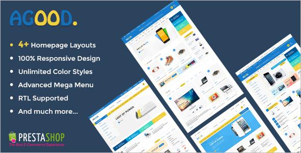 Digital StorePrestaShop Theme