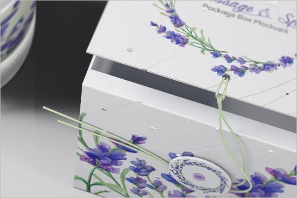 Download Gift Box Mockup PSD