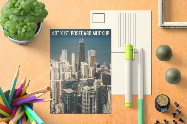 Download Travel Postcard Template