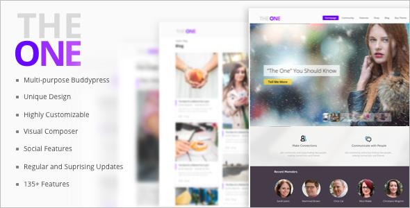 Drag & Drop WordPress Template