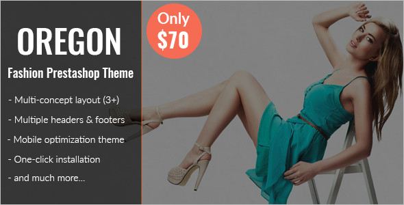 E-Commerce Responsive Prestashop Theme