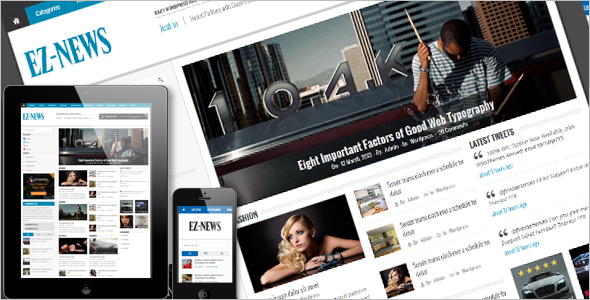 E-News WordPress Theme