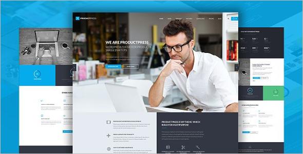 E-Commerce WordPress Theme for Startups