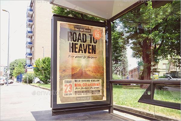 Editable Billboard Mockup PSD Template