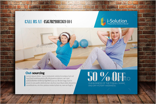 Editable Fitness Card Template