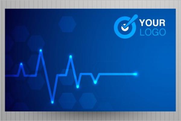Editable Hospital Business Card