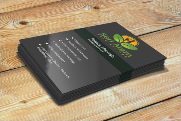Editable Hotel Business Card
