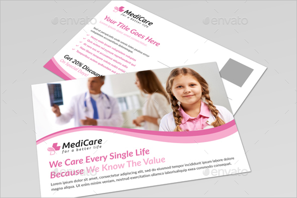 Editable Medical Card design