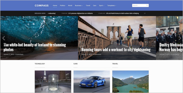Editable Multimedia WordPress Theme