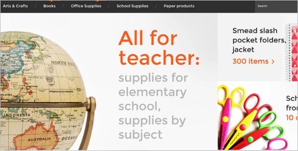 Education Supplies PrestaShop Theme