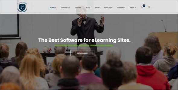 Educational Event WordPress Theme
