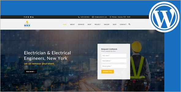 Electric Store WordPress Theme
