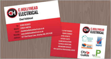 Electrical Store Business Cards