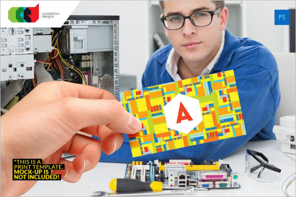 Electronic Engineer Business Card