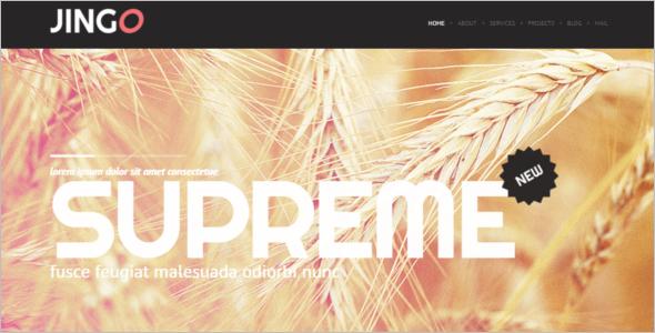 Elegant Agriculture WordPress Theme