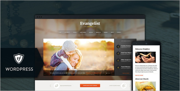Elegant Church WordPress Theme