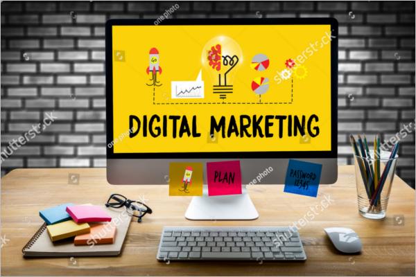Elegant Digital Marketing banner Design