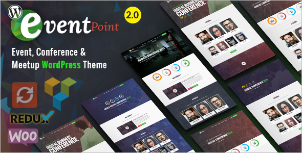 Elegant EventWordPress Theme