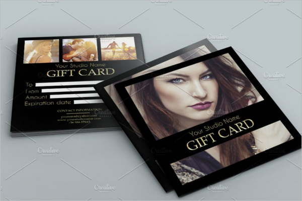 Elegant Gift Card Template