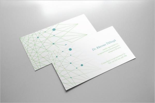 Elegant Hospital Business Card