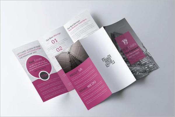 Elegant Real Estate Brochure Design