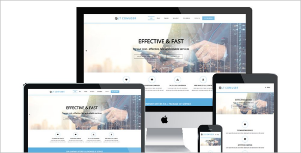 Entertainment Company WordPress Theme