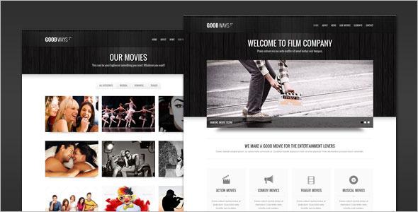 Entertainment Film WordPress Theme
