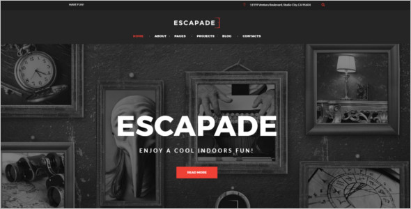 Entertainment WordPress Theme