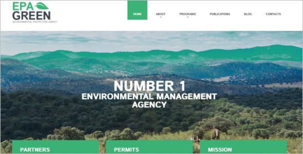 Environmental Agency WordPress Theme