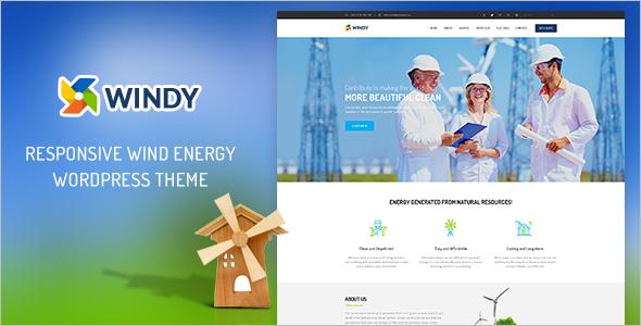 Environmental Corporate WordPress Theme