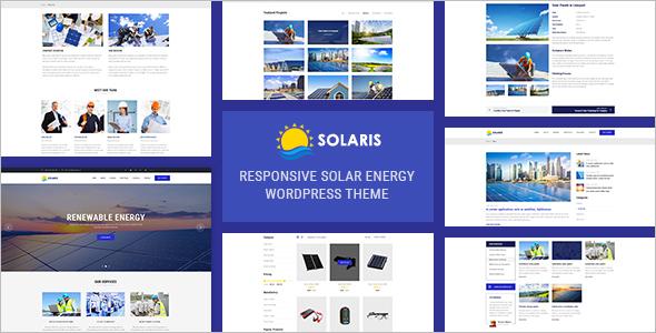 Environmental Energy WordPress Theme
