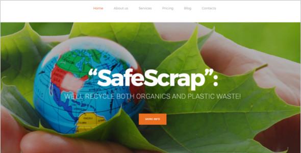 Environmental Services WordPress Theme