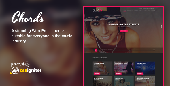 Event Entertainment WordPress Theme