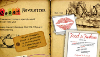 Event Newsletters Templates