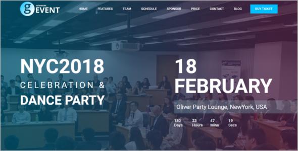 Event Schedule WordPress Theme