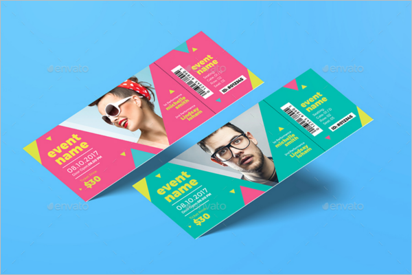 40+ Event Ticket Templates | Free & Premium | Creative Template