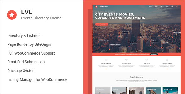 Events Directory WordPress Theme
