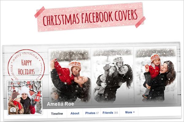 Facebook Profile Christmas Cover Design