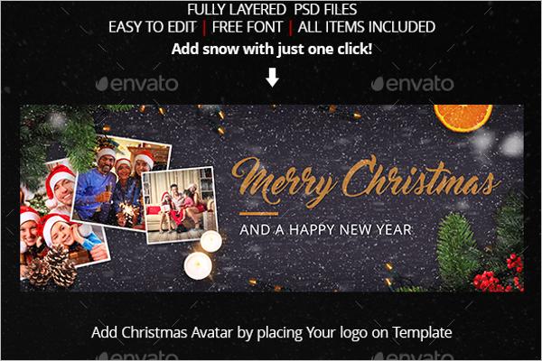 Family Christmas Facebook Cover