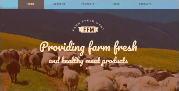 Farm WordPress Theme