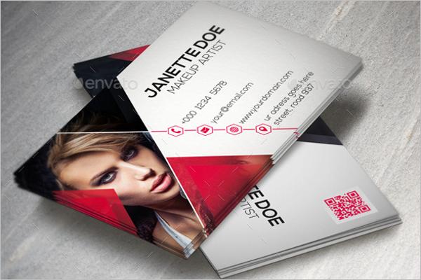 Fashion Artist Business Card